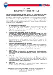 """Laden Sie """"16 Tipps für Vermieter"""" runter"""
