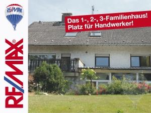 Angebot: Handwerker aufgepasst! Freistehendes Einfamilienhaus mit Platz für alles!