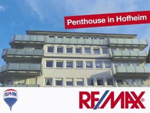 Angebot: Penthouse über den Dächern von Hofheim