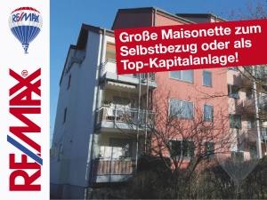 Angebot: Große Maisonette zum Selbstbezug oder als Top-Kapitalanlage!