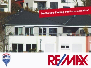 Angebot: Penthouse-Feeling mit Panorama-Blick ins Grüne. Premium-Lage Bad Soden.