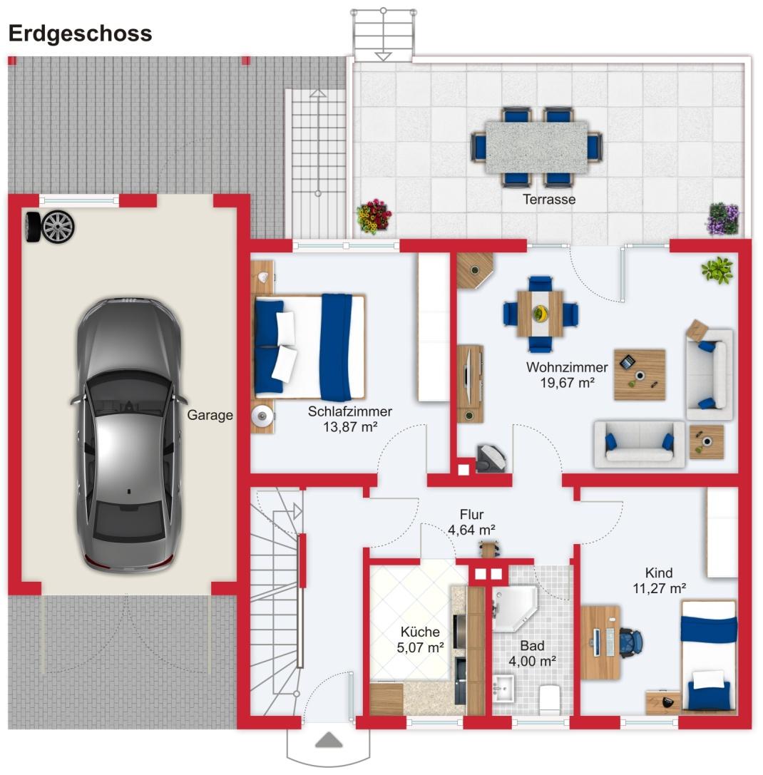 141171013-264 Haus Bad Soden EG
