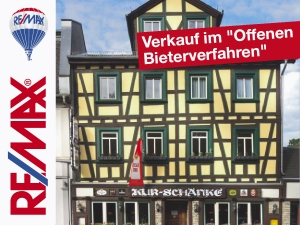 Angebot: Traditions-Gasthaus in 1A-Lage von Bad Soden. Verkauf im Offenen Bieterverfahren.