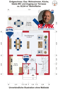 Angebot: Einfamilien-Reihenhaus mit viel Platz in ruhiger Wohnlage in Liederbach